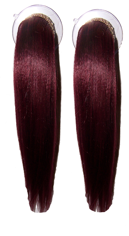 Dark Red Hair Images. Red Hair Double Tails